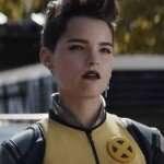 Brianna Hildebrand Deadpool 2 Leather Jacket