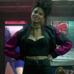 Deadpool 2 Zazie Beetz Domino Jacket
