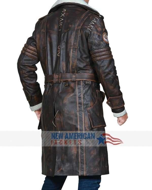 Elder Maxson Shearling Coat