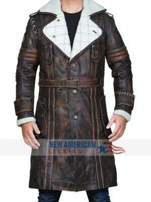 Fallout 4 Elder Maxson Brown Leather Coat