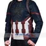 Infinity War Captain America Jacket