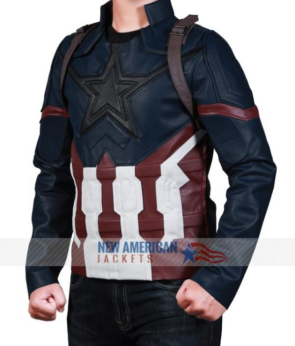 Infinity War Captain America Jacket