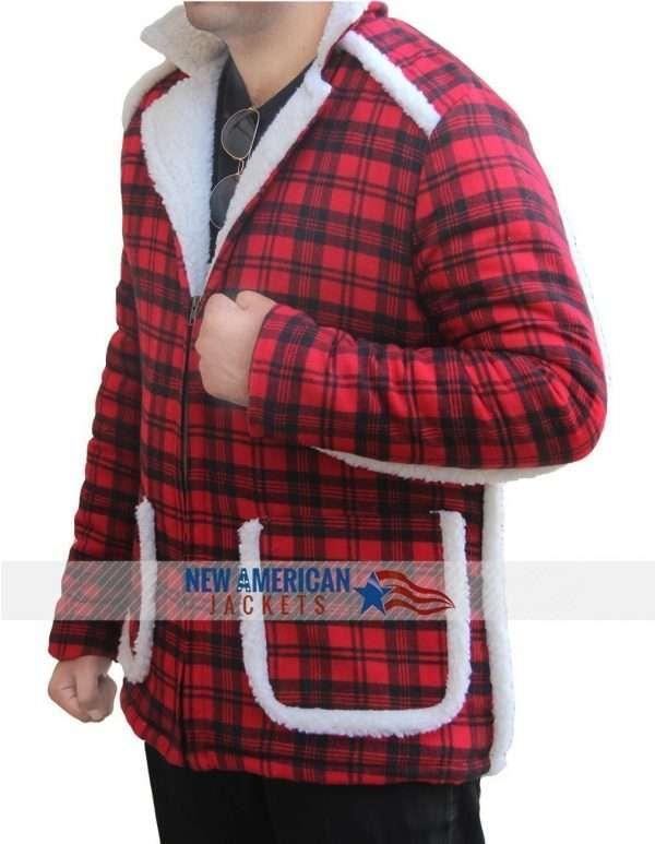 Ryan Reynolds Red Deadpool Jacket