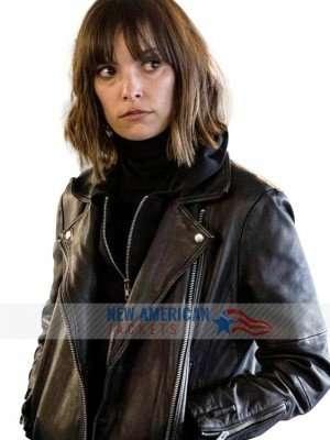Elaine Shepard Rellik Leather Jacket