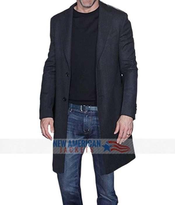 Ryan Reynolds Deadpool 2 Black Wool coat
