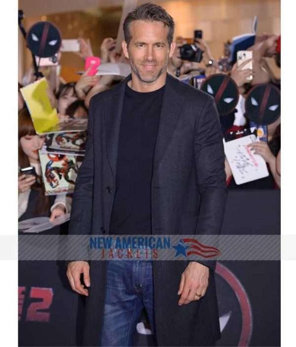Ryan Reynolds Coat from Deadpool 2 Event