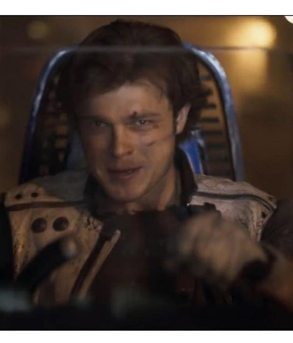 Solo a Star Wars Story Alden Ehrenreich Vest