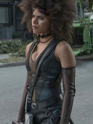 Deadpool 2 Zazie Beetz Vest