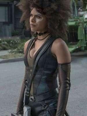 Deadpool 2 Zazie Beetz Vest
