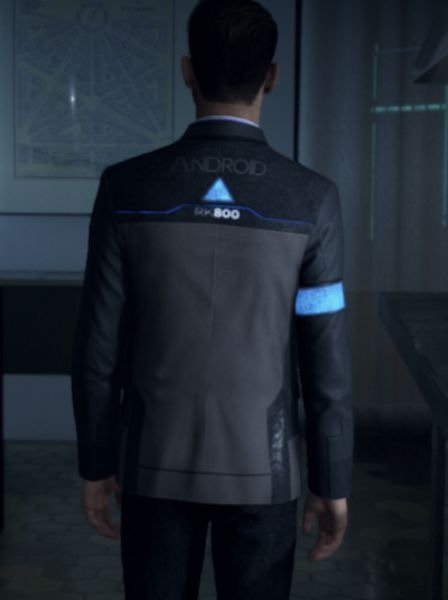 Connor Detroit Become Human Cosplay Jacket