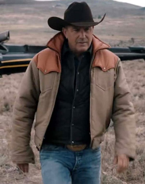 Kevin Costner Yellowstone Jacket
