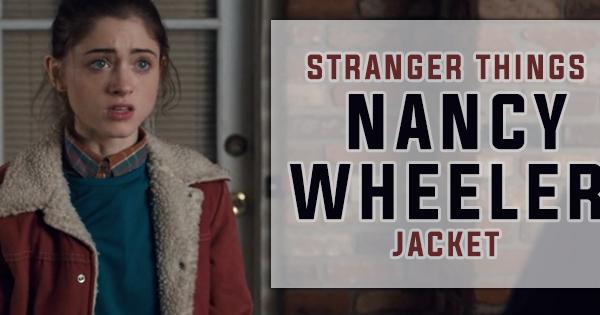 Stranger Things Nancy Wheeler Red Jacket