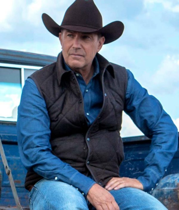 Yellowstone-John-Dutton Brown-Vest
