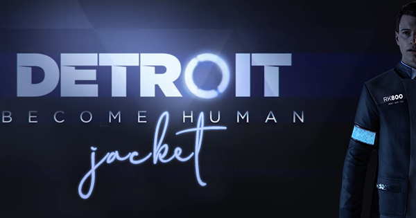 Video Game Detroit Become Human Connor Jacket