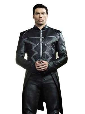 Inhumans Black Bolt Costume Jacket Coat
