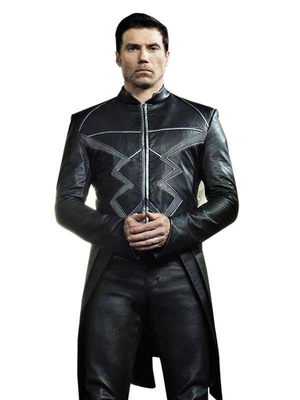 Anson Mount Black Bolt Coat Inhumans