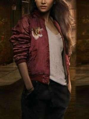 Jessica Henwick Iron Fist Colleen Wing Bomber Jacket