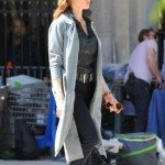 Ilsa Faust Mission Impossible 6 Grey Trench Coat