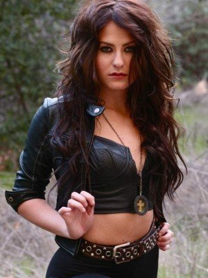 Scout Taylor-Compton Black Leather Jacket