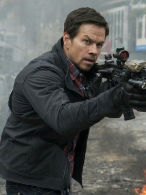 Mile 22 Mark Wahlberg Black Jacket