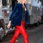 Ocean's Eight Cate Blanchett Blue Velvet Blazer