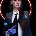 Video Game Detroit Become Human Kara Jacket