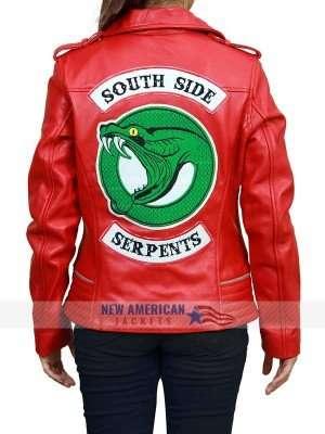 Southside Serpents Red Cheryl Blossom Jacket