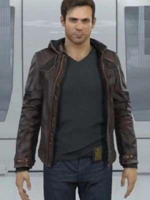 Gavin Reed Detroit Become Human Brown Jacket