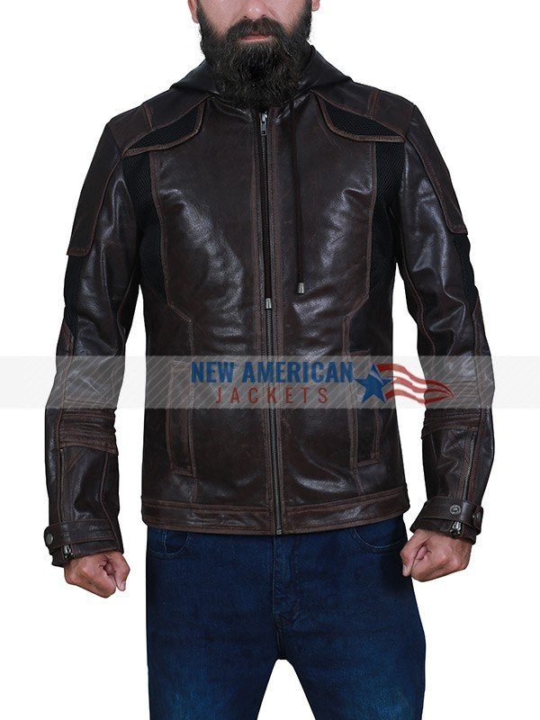 Detroit Become Human Gavin Reed Leather Jacket