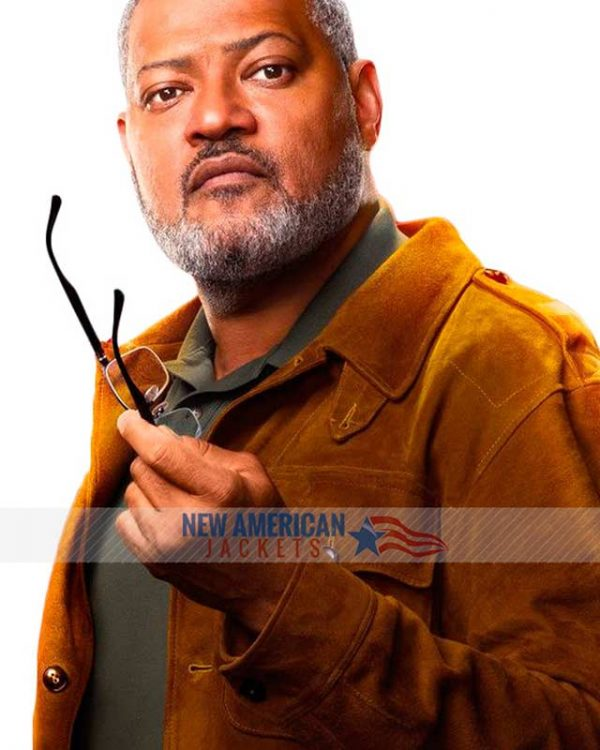 Laurence Fishburne Ant Man and The Wasp Bill Foster Jacket