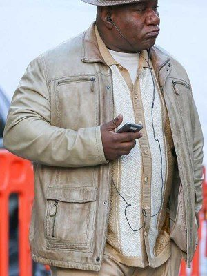 Luther Stickell Leather Jacket