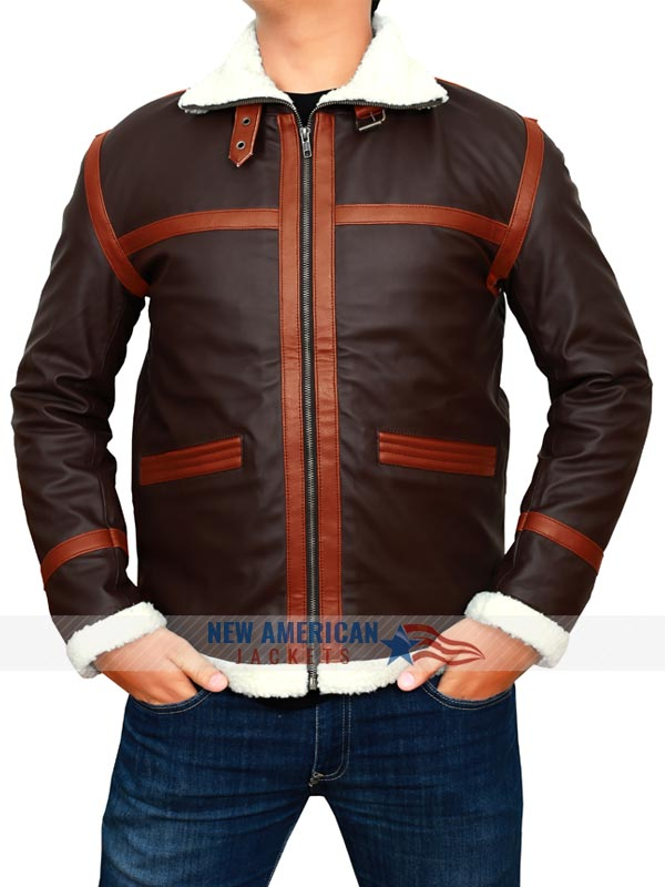 Resident Evil 4 Shearling Jacket