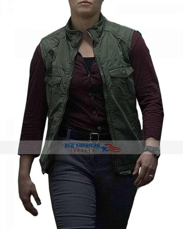 Ronda Rousey Mile 22 Green Vest