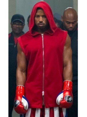 Creed 2 Red Hooded Vest