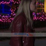 madison iseman leather JACKET