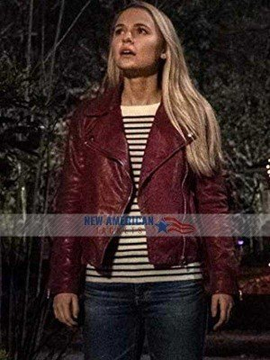 Goosebumps 2 Madison Iseman Leather Jacket