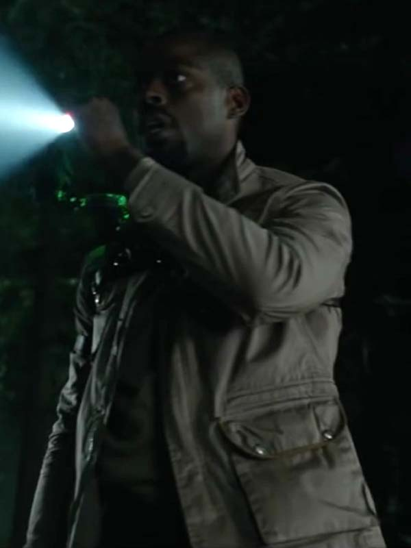 Sterling K. Brown Cotton Jacket The Predator