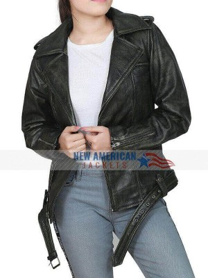 Brie-Larson-distressed-leather-jacket