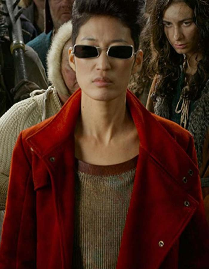 """Mortal Engines Jihae Trench Coat """