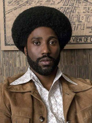 BlacKkKlansman Ron Stallworth Suede Brown Leather Jacket