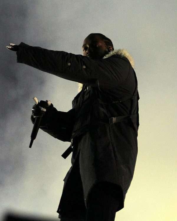 Kendrick Lamar College Football Playoff Coat