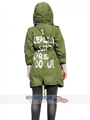 'I really don't care do u?' jacket