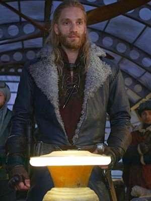 Mortal Engines Leifur Sigurdarson Leather Coat