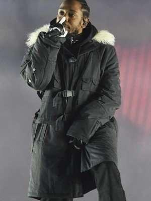 kendrick lamar ncaa fur coat