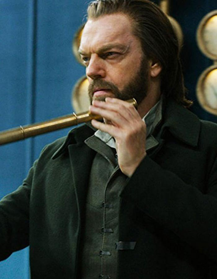 Mortal Engines Hugo Weaving Black Trench Coat