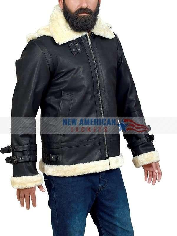 B3 Genuine Leather Bomber Jacket
