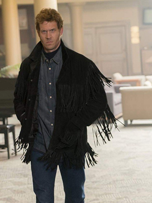 Fargo Mr Wrench Russell fringe jacket