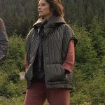 Lost In Space Parker Posey Sleeveless Hooded Jacket