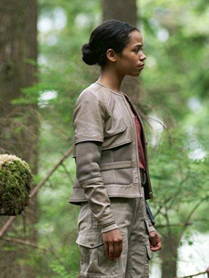 """Lost in Space Taylor Russell Grey Jacket"