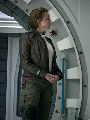 Lost In Space Molly Parker Leather Jacket